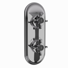 Picture of Aquamax Thermostatic Shower Mixer - Black Chrome
