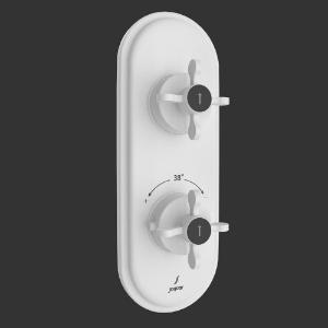 Picture of Aquamax Thermostatic Shower Mixer - White Matt