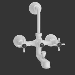 Picture of Wall Mixer 3-in-1 System - White Matt
