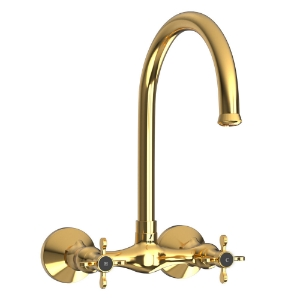 Picture of Sink Mixer with Regular Swinging Spout - Full Gold