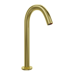 Picture of Blush Tall Boy Deck Mounted Sensor faucet- Full Gold