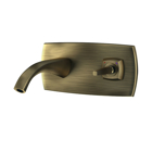 Picture of Exposed Part Kit of Joystick Basin Mixer Wall Mounted - Antique Bronze