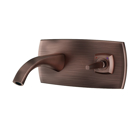 Picture of Exposed Part Kit of Joystick Basin Mixer Wall Mounted - Antique Copper