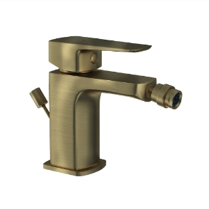 Picture of Single Lever 1-Hole Bidet Mixer with Popup Waste System - Antique Bronze