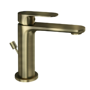 Picture of Single Lever Basin Mixer with Popup Waste - Antique Bronze