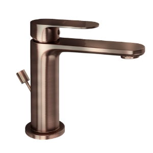 Picture of Single Lever Basin Mixer with Popup Waste - Antique Copper