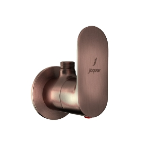 Picture of Angle Valve with Wall Flange - Antique Copper