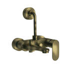 Picture of Single Lever Wall Mixer 3-in-1 System - Antique Bronze