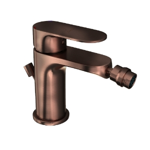Picture of Single Lever Bidet Mixer with Popup Waste - Antique Copper