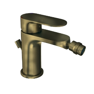 Picture of Single Lever Bidet Mixer with Popup Waste - Antique Bronze
