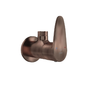 Picture of Angular Stop Cock - Antique Copper