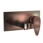Picture of Exposed Part Kit of Single Lever Basin Mixer Wall Mounted - Antique Copper
