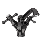 Picture of Central Hole Basin Mixer - Black Chrome