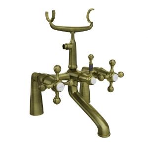 Picture of Bath Tub Mixer (Exposed Straight Legs) - Antique Bronze