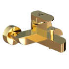 Picture of Single Lever Wall Mixer - Full Gold