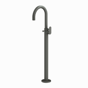 Picture of Exposed Parts of Floor Mounted Single Lever Bath Mixer - Graphite