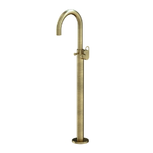 Picture of Exposed Parts of Floor Mounted Single Lever Bath Mixer - Antique Bronze