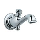 Picture of Bath Tub Spout with Button Attachment - Chrome