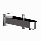 Picture of Vignette Prime Bath Tub Spout - Black Chrome