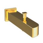Picture of Alive Bath Tub Spout - Full Gold