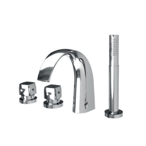 Picture of Thermostatic Bath and Shower Mixer - Chrome