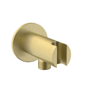 Picture of Wall Outlet with Shower Hook - Gold Dust