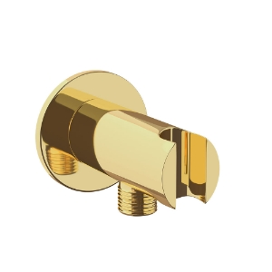 Picture of Wall Outlet with Shower Hook - Full Gold