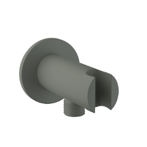 Picture of Wall Outlet with Shower Hook - Graphite
