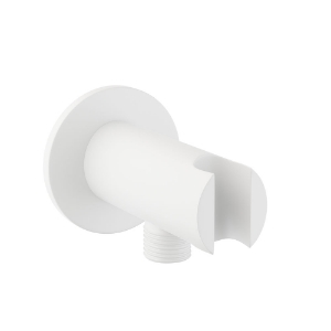 Picture of Wall Outlet with Shower Hook - White Matt