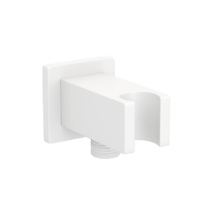 Picture of Wall Qutlet with Shower Hook - White Matt