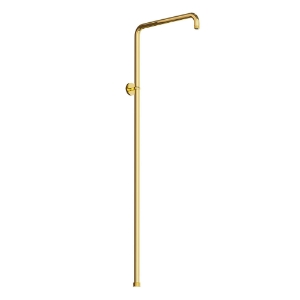 Picture of Exposed Shower Pipe - Full Gold