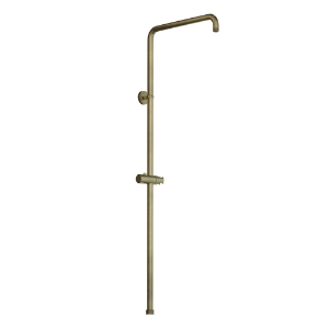 Picture of Exposed Shower Pipe with Hand Shower Holder - Antique Bronze