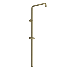 Picture of Exposed Shower Pipe with Hand Shower Holder - Gold Dust